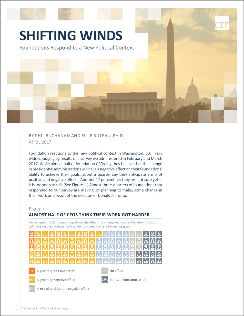 Shifting Winds: Foundations Respond to a New Political Context